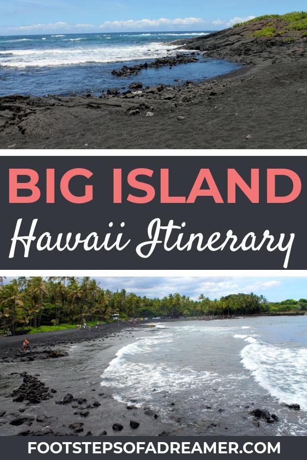 Hawaii 3 Day Big Island Itinerary