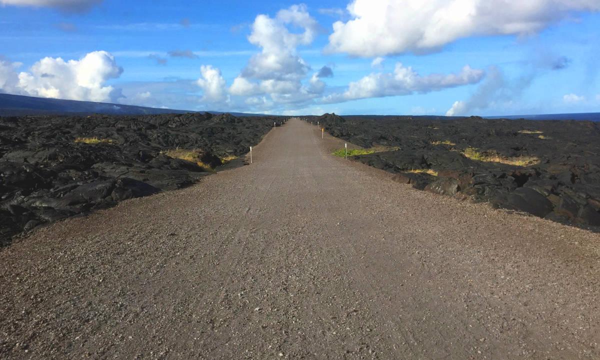 Hawaii Volcanoes National Park - Lava Rock