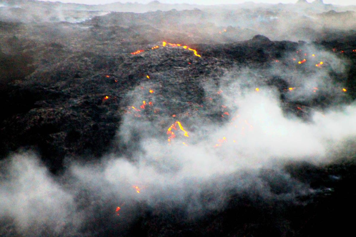 Hawaii Volcanoes National Park - Lava Flow