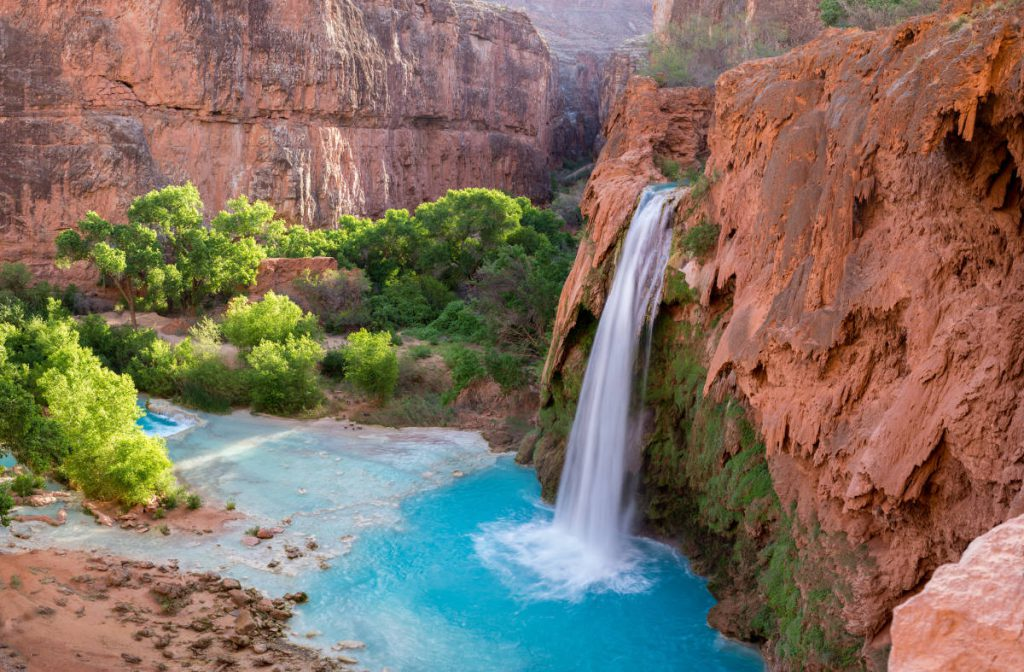Havasu Falls | Footsteps of a Dreamer | Adobe Stock Photo