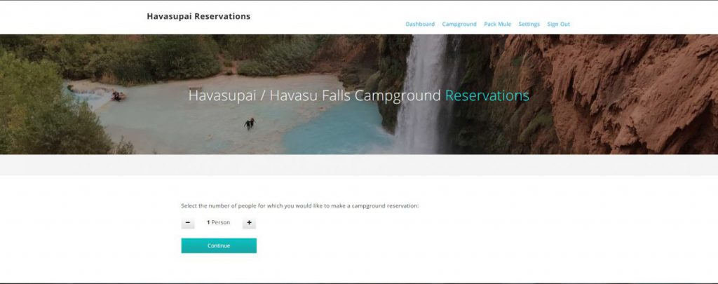 Havasupai Reservations Number People | Footsteps of a Dreamer