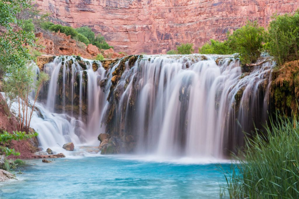 Navajo Falls | Footsteps of a Dreamer | Adobe Stock Photo