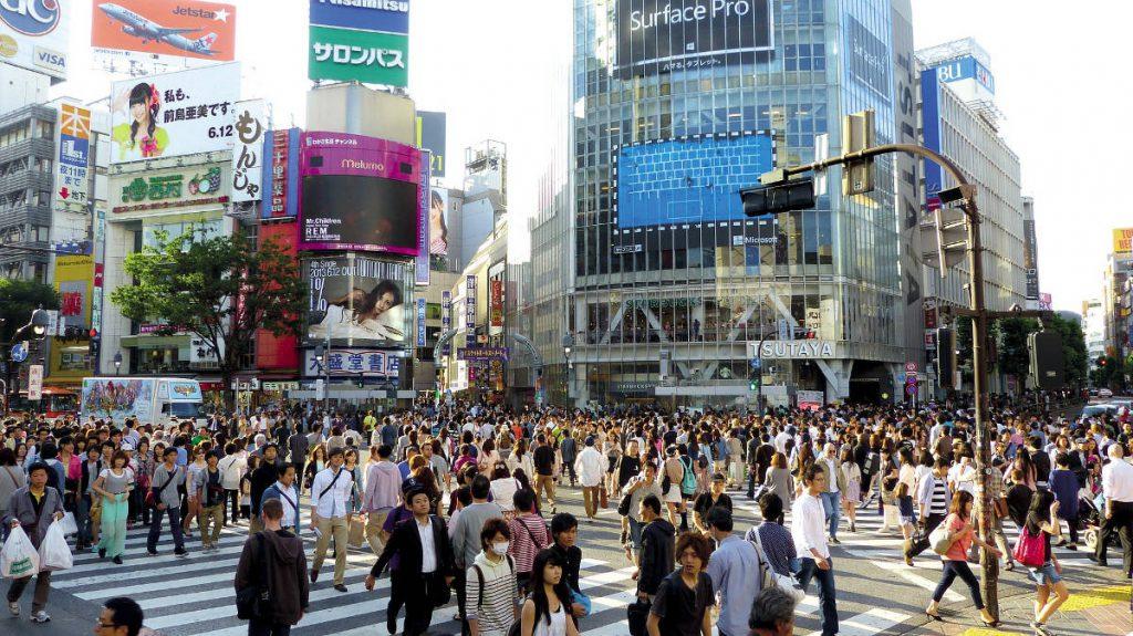 Shibuya Crossing Tokyo Japan | Footsteps of a Dreamer