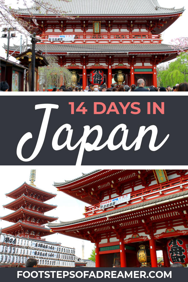 Ultimate 14 Day Japan Itinerary | Footsteps of a Dreamer