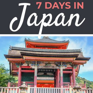 Ultimate 7 Day Japan Itinerary | Footsteps of a Dreamer
