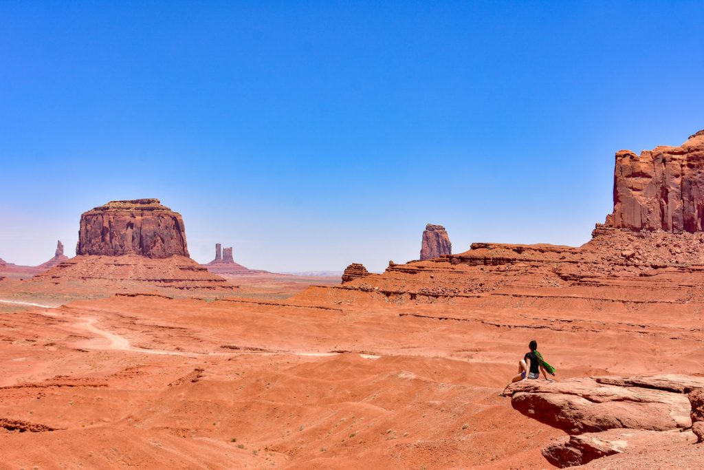 Monument Valley, Arizona, Two Dusty Travelers