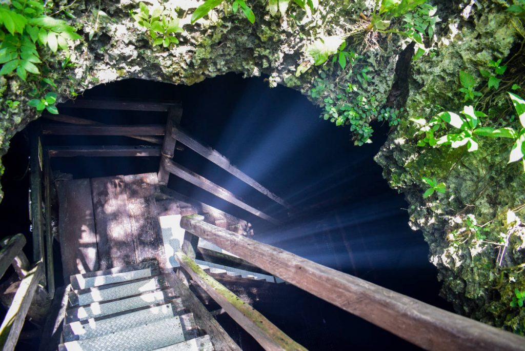 Cenote Caracol Wet Route Entrance | Footsteps of a Dreamer