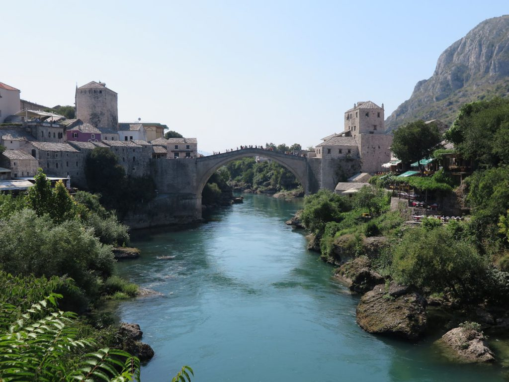 Mostar, Bosnia Herzegovina, Map Made Memories