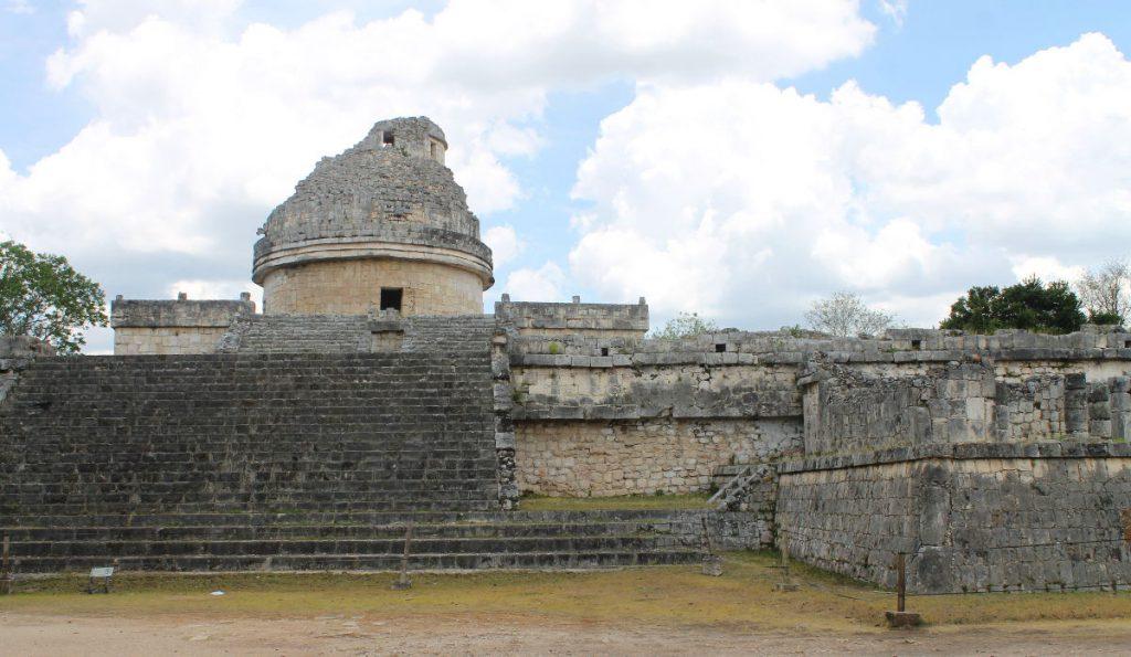 Observatory, Chichen Itza, Mexico