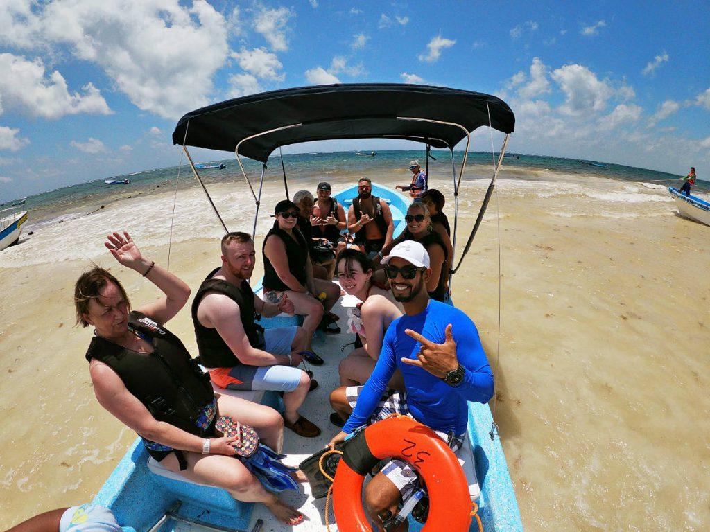 Boat to Go Snorkeling at Playa Maya | Footsteps of a Dreamer