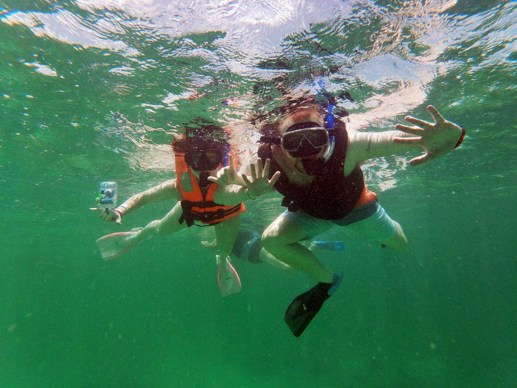 Snorkeling at Playa Maya | Footsteps of a Dreamer