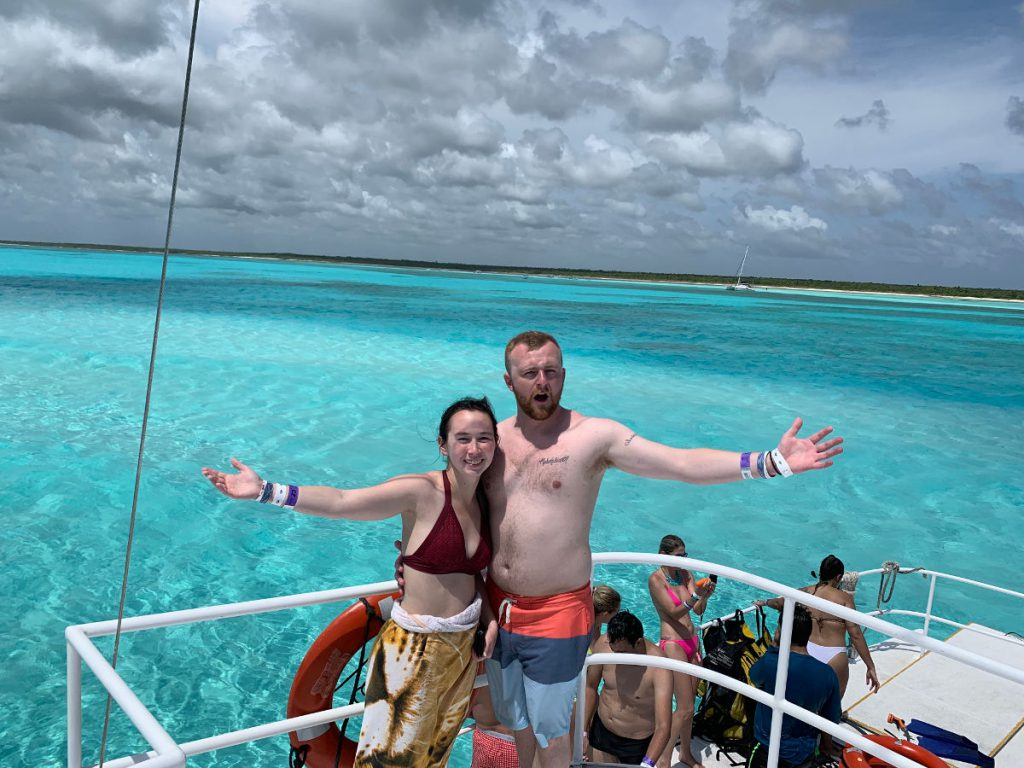 Catamaran Cozumel Mexico | Footsteps of a Dreamer