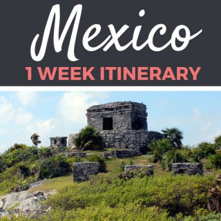 Mexico Itinerary: 1 Week in Playa Del Carmen | Footsteps of a Dreamer
